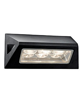 LED Wall Light in Black