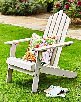 Adirondack Folding Wooden Seat