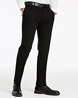 Farah Black Slim Leg Trousers 30in