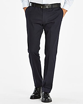 Farah Dark Navy Stretch Chino 30in
