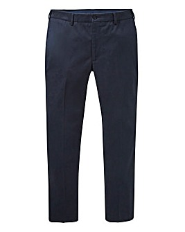 Farah Dark Navy Stretch Chino 32in