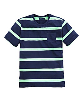 Southbay Unisex Crew Neck Stripe T-Shirt