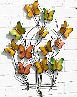 Butterfly Swarm Wall Art