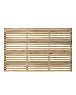 Forest Slatted Fence Panel Pack 3