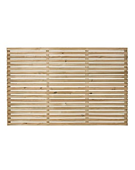 Forest Slatted Fence Panel Pack 5