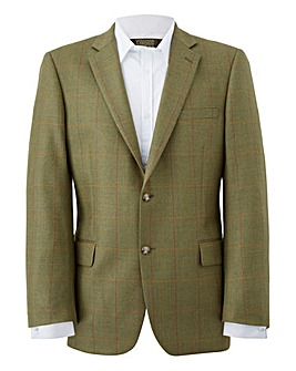Brook Taverner Green Check Blazer R