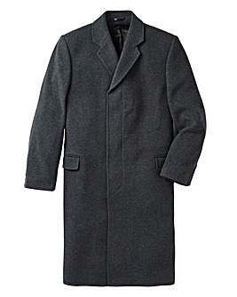 Brook Taverner Charcoal Overcoat