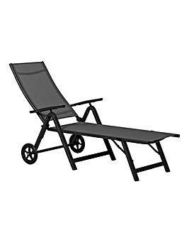 Sorrento Folding Sun Lounger