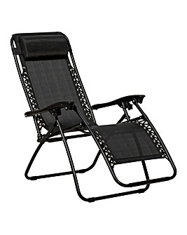 Pair of Black Zero Gravity Chairs