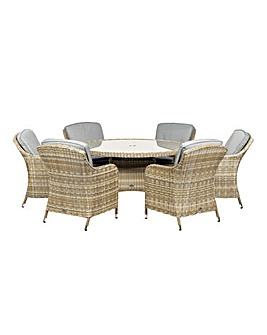 Wentworth 6 Seater Imperial Dining Set