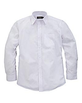 W&B London White L/S Formal Shirt L