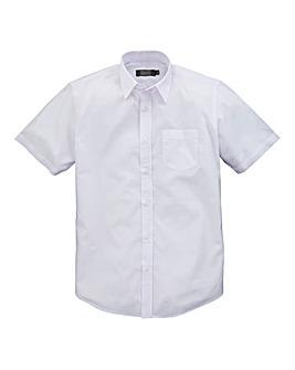W&B London White S/S Formal Shirt R