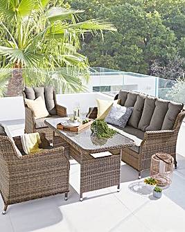 Florida Lounge Dining Set