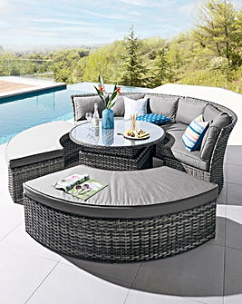 Sofia Sofa Dining Set with Rising Table
