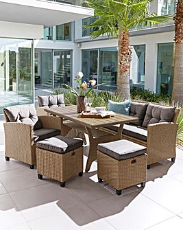 Amalfi Lounge Dining Set