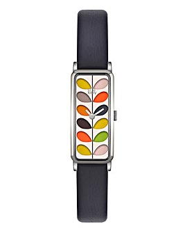 Orla Kiely Ladies Slim Stem Print Watch