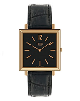 Henry London Gents Square Watch
