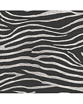 Arthouse Zebra Print Wallpaper