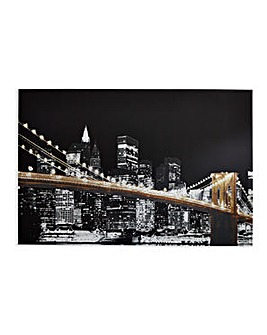 Arthouse Glitz City Canvas