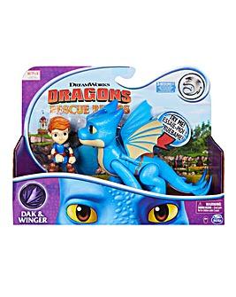 Rescue Riders Dragon and Viking: Winger & Dak