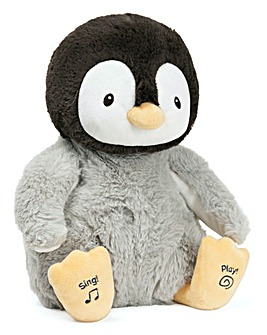 GUND 12in Kissy the Animated Penguin