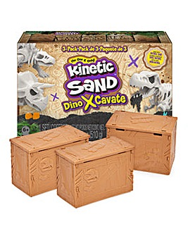 Kinetic Sand Dino Discovery 3 Pack