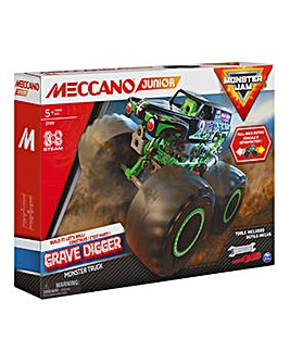 Meccano Junior Monster Jam Grave Digger Monster Truck