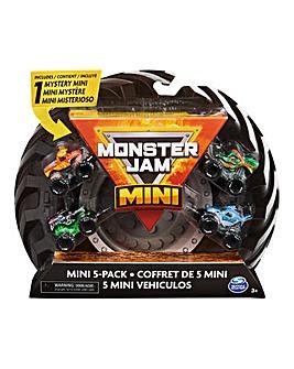 Monster Jam Mini Scale 5 Pack