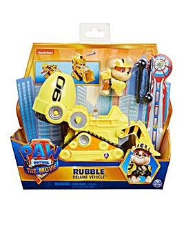 Paw Patrol Movie Deluxe Transforming Vehicle: Rubble