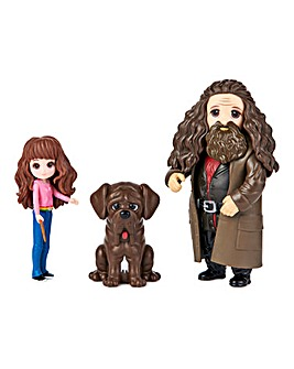 Harry Potter Magical Charmers 3 inch Multi Pack Hermione & Hagrid