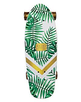 ReDo Shorty Cruiser Green Palm Skateboard