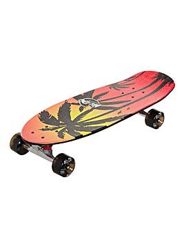 ReDo Shorty Cruiser Pink Palm Skateboard