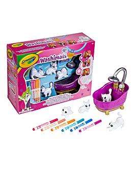 Crayola Washimals Pets Bathtub Set