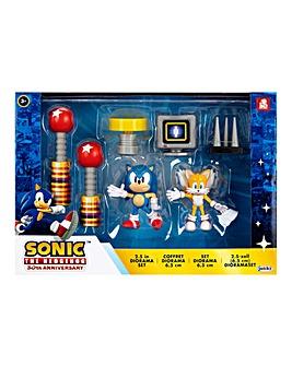 Sonic 2.5 Figure Diorama Set