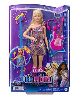 Barbie: Big City, Big Dreams Singing Malibu Barbie Doll with Music Feature