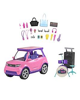 Barbie: Big City, Big Dreams Transforming Vehicle Playset
