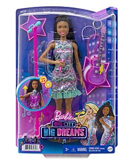 Barbie: Big City, Big Dreams Singing Brooklyn Barbie Doll with Music Feature