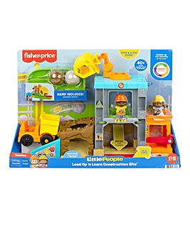 Fisher-Price Little People Load Up n Learn Construction Site Playset