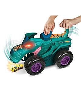 Hot Wheels Monster Truck Car Chompin Mega Wrex