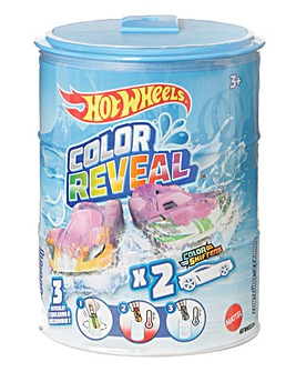 Hot Wheels 1:64 Scale Colour Reveal Vehicle 2 Pack Assortment