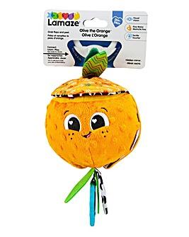 Lamaze Olive the Orange Clip & Go Baby Toy
