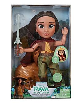 Disney Princess Raya: Articulated Feature Large Doll Raya