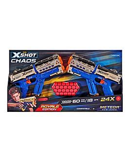 X-Shot Chaos Golden Meteor 2PK