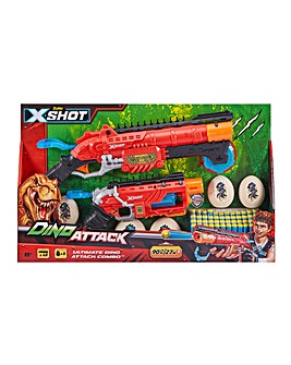 X-Shot Dino Attack-Combo Pack Claw Hunter And Dino Striker