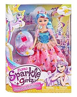 ZURU Sparkle Girlz Deluxe Unicorn Princess Set