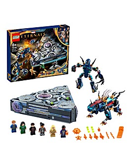 LEGO Marvel The Eternals Rise of the Domo - 76156