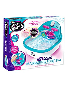 Shimmer 'N' Sparkle 6 in 1 Foot Spa