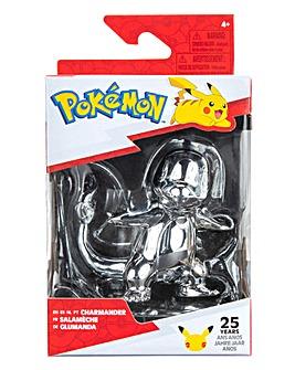 Pokemon 3inch Battle Figure Silver Charmander