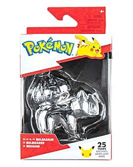 Pokemon 3inch Battle Figure Silver BULBASAUR
