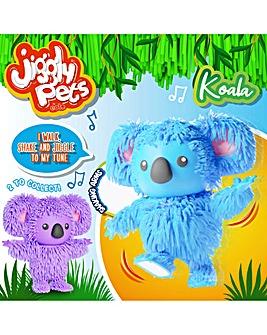 Jiggly Pets Koala - Blue